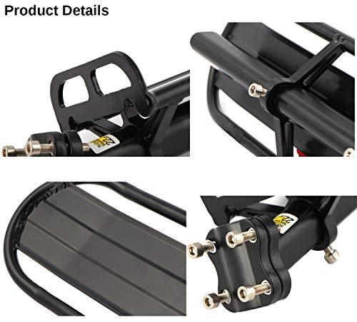 ThreeH Portapacchi Bici Regolabile in Alluminio Lega Rapida Rimozione e Installazione BK41 4 spesavip