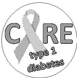 Cure Diabetes Ribbon