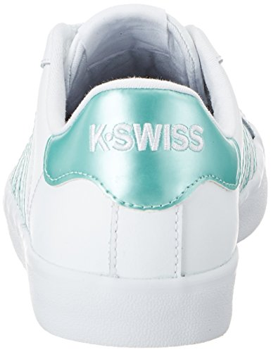 Green K Zapatillas Brooke Swiss Blanco White Mujer Belmont So Metallic fqTgrR7f