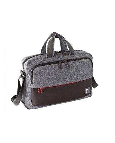 Nava design Passenger Briefcase bag–grigio/rosso