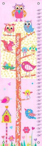 Oopsy daisy, Fine Art for Kids Little Owls Growth Chart, 12'' X 42'' by Oopsy Daisy