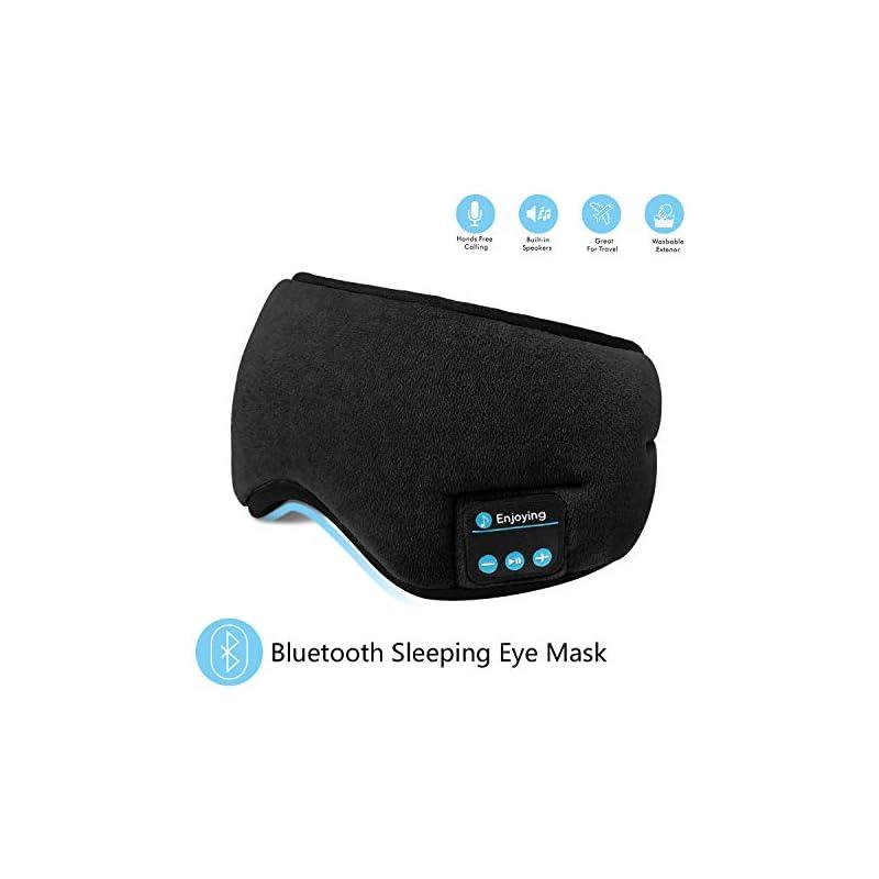 Bluetooth Sleeping Eye Mask Headphones,S