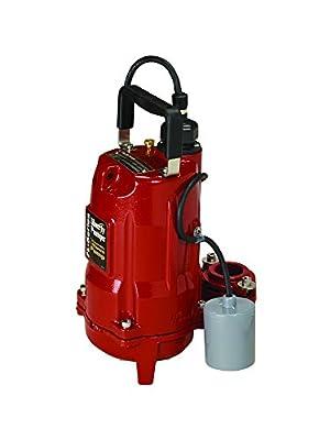 Liberty Pumps FL51A Mid Range Head Effluent Pump, 1/2 HP, 115-volt