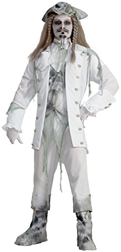 Forum Novelties Ghost Captain Adult Costume White -