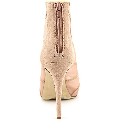 Inc Internationale Concepten Reealto Vrouwen Peep-teen Canvas Bootie Blush