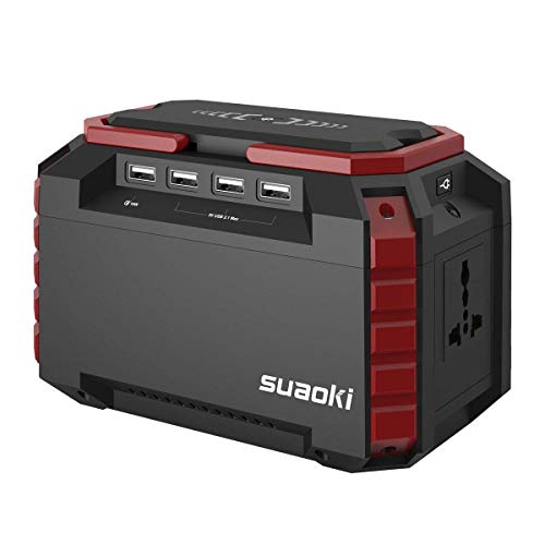 Suaoki Portable Power Generator 150Wh Solar Power Station Lithium Battery...