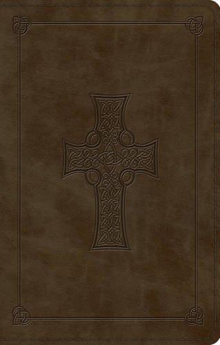 ESV Large Print Value Thinline Bible (TruTone, Olive, Celtic Cross Design) (Bible Cross Esv Celtic)