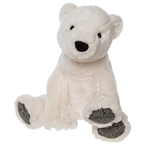 Mary Meyer Chillin' Arctic Stuffed Animal Soft Toy, Polar Bear, - Bears Brrr