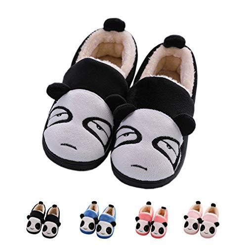 Men Girls Black Plush Boy Warm Anti Slippers Slippers 1 Home Women Slipper Slip House Winter Cute Indoor Shoes gZqSg