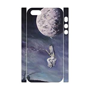 Custom New Case for Iphone 5,5S 3D, Painting The Universe Phone Case - HL-R677978