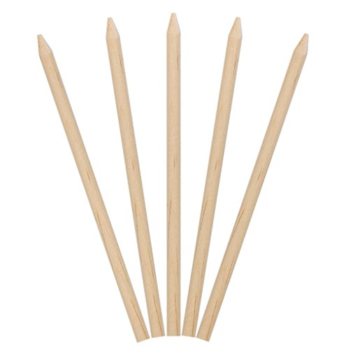 Mountain Apple (KingSeal Natural Birch Wood Candy Apple Skewers, Sticks, 5.5 Inch, 6.5mm diam - 1000 Count)
