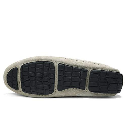 Zapatos Mocasines Zapatos Zapatos Diario Ante Zapatos YAN Mocasines Hombre Desgaste Casual de Conducción Mocasines Slip al Resistentes de y para Casual Un Ons qASwqT6