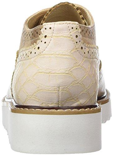 La Strada 906959, Zapatos De Cordones Derby para Mujer Beige (Nude)