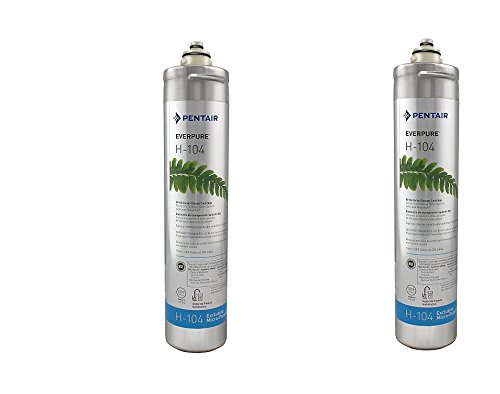 Everpure H-104 Water Filter Replacement Cartridge (EV9612-11) (Pack of 2) by Everpure