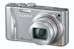 """Panasonic Lumix DMC-TZ25 - Cámara compacta de 12.1 Mp (pantalla de 3"""", zoom óptico 16x, estabilizador de imagen óptico, vídeo Full HD 1080p) color plata"""
