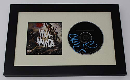 Autographed Record - Coldplay Chris Martin Authentic Signed Autographed Music Cd Compact Disc Framed Display Loa