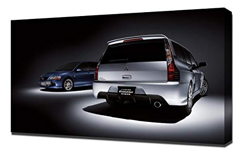 Lilarama USA 2005-Mitsubishi-Lancer-Evolution-IX-Wagon-V5 Canvas Art Print - Wall Art - Canvas Wrap ()