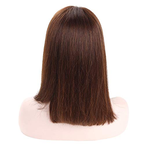 Short Bob Wig Lace Frontal Human Hair Wigs Women 150% Straight Lace Frontal Wigs,#4,12inches,150%