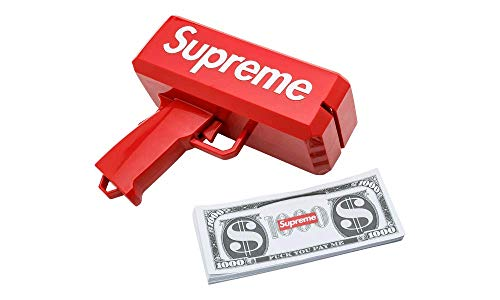 Fox Den Money Gun Cash Shooter Make it Rain Dispenser Supreme inspired Paper Dollar Dispenser from Fox Den