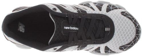 888098067965 - New Balance KJ890 Pre Lace-Up Running Shoe (Little Kid),Black/Silver,11 W US Little Kid carousel main 6