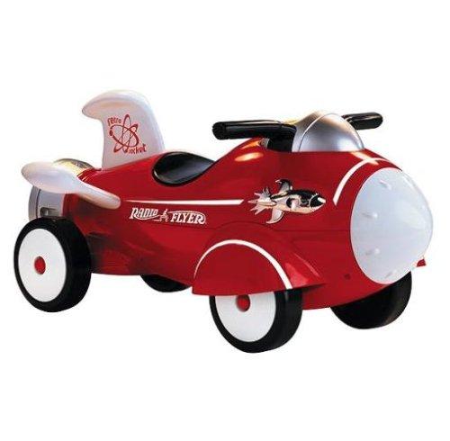 Radio Flyer Retro Rocket (Flyer Car Radio Red Classic)