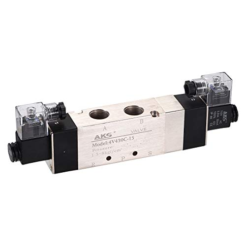 uxcell AC 110V 5 Way 3 Position 1/2