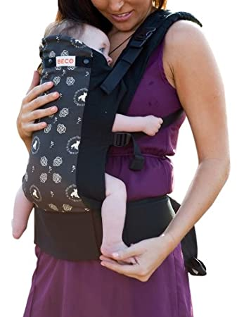 5e3a64aa5e8 Amazon.com   Beco Butterfly II Organic Infant Baby Carrier Foxie Black   Child  Carrier Front Packs   Baby