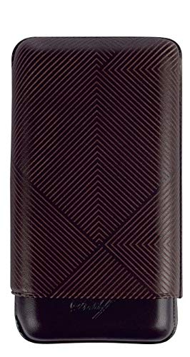 Davidoff XL-3 Cigar Case Leaf Design - Brown by Davidoff (Image #1)