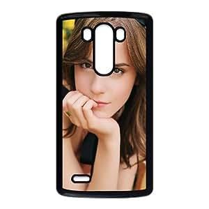 LG G3 Cell Phone Case Black_Emma Watson Thinking Yoodd