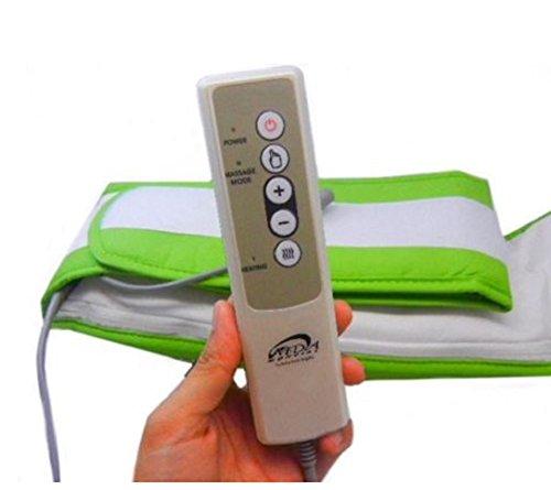 Bioexcel Slimming Massage Belt, Fat Burner Body Shake Belt - Electric Weight Lose Belt with Heat Function