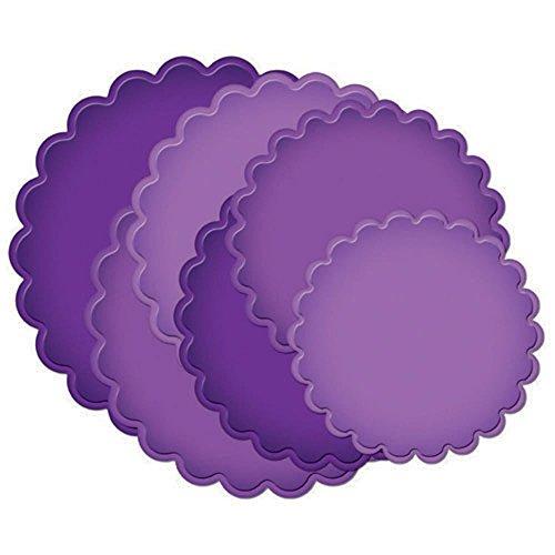 Spellbinders Grand Calibur Nestabilities Dies-Scalloped Circles