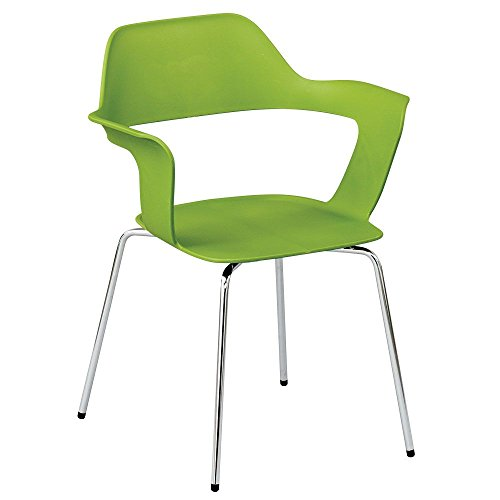 Set of 4 Open Back Modern Stack Chair Dimensions: 23.4