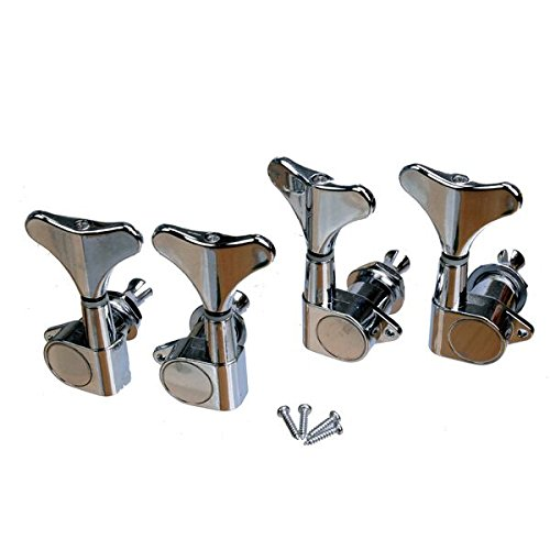 Tuning Pegs Machine Heads 2R2L for guitar Bass Set of 4 - 8