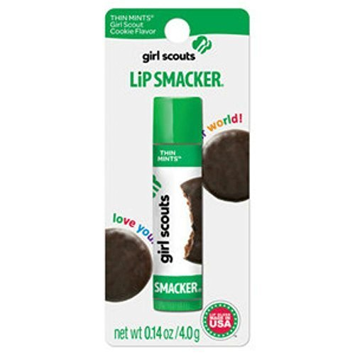 Lip Smacker Girls Scout Thin Mint Lip Gloss, 0.14 oz
