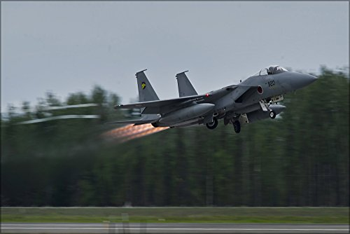 20x30 Poster; F-15J (920) F-15 Eagle Of 306 Sqn Takes Off From Eielson Air Force Base During Red Flag-Alaska ()