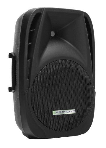 Pronomic PH12A Aktiv Bühnen-/Konzert PA-Lautsprecher (30 cm (12 Zoll), 300 Watt) schwarz