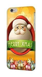 "S1367 Merry Xmas Santa Claus Case Cover For IPHONE 6 PLUS (5.5"")"