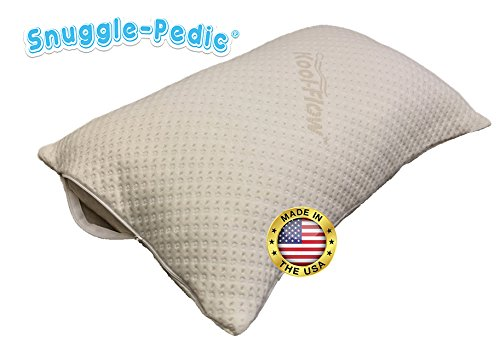 Zipper Removable Pillow Cover by Snuggle-Pedic