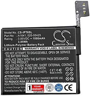 VINTRONS Battery for Apple A1574 iPod 7.1 iPod Touch 6th,
