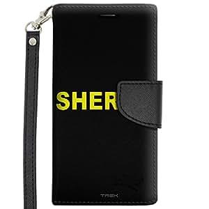 HTC Desire 626 Wallet Case - Sheriff on Black