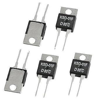 HATCHMATIC 5pcs KSD 01F 15A 250VAC 24VDC NC Normal Closed 0C 95C