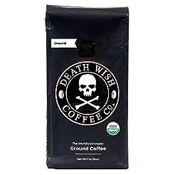 Death Wish Coffee Company Ground Coffee,...