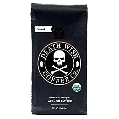 Ground Coffee From Death Wish Coffee
