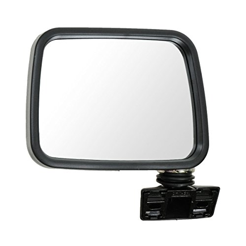 Isuzu Pup Rodeo - Chrome Manual Mirror Driver Side Left LH for Isuzu Rodeo Pup Pickup