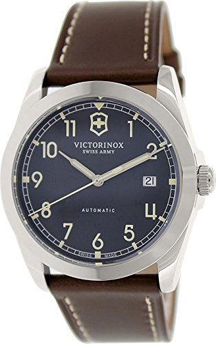 Victorinox Swiss Army Infantry Automatic Black Dial Mens Watch 241565