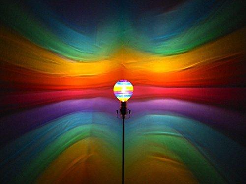 Hand Painted Light Bulbs - Hand-Painted Rainbow Mood-Light Bulb