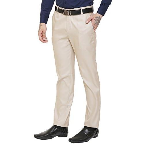 41dhb5t3IBL. SS500  - AD & AV Men's Regular Fit Formal Trouser