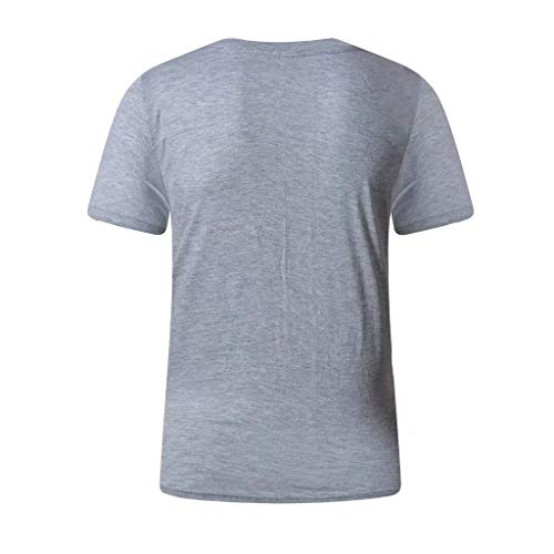 Haut Winjin shirt shirt Imprimé T Chemise Ete Basique Printing Pour Cher Vetement Pas Homme Fit Shirt Letter Tee Tee Gris qrOwnUgq