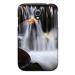 Tpu JUST-cases Shockproof Scratcheproof Silky Waterfall Hard Case Cover For Galaxy S4
