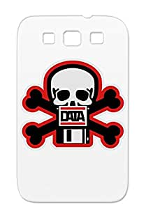 DATA Direct Access To All TPU For Sumsang Galaxy S3 Silver To Symbols Shapes All Access Protective Hard Case